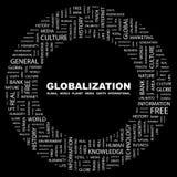 GLOBALIZACIÓN. Foto de archivo libre de regalías