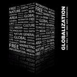 GLOBALIZACIÓN. ilustración del vector