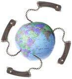 globalizacja komunikacji Fotografia Stock