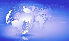 Globalizacja pojęcie Fotografia Stock