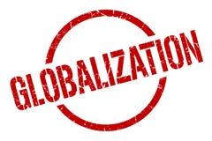 Globalizacja znaczek ilustracji