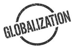 Globalizacja znaczek ilustracja wektor