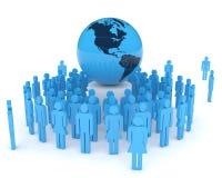Globalization Concept royalty free illustration