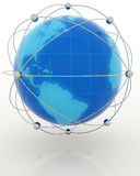 Globalization concept Stock Photography