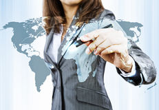 Globalization concept Stock Photo