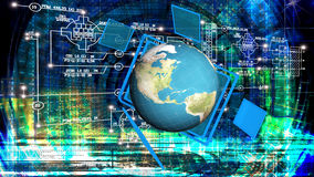 Globalization connection Internet technology Royalty Free Stock Image
