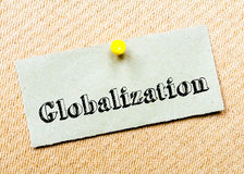 Globalization Message Stock Photography