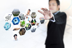 Globalization and technology. Royalty Free Stock Images