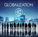 Globalization Technology Internet Connect Concept Stock Photography