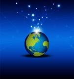 Globalization technology network Stock Photos
