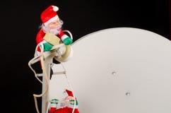 Globalizing Santa, a concept stock photos