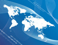 Globalizzazione del mondo Fotografie Stock