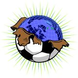 Globall Foto de Stock Royalty Free