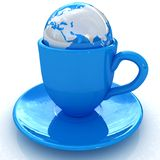 Globally. Drink for the entire planet. Royalty Free Stock Images
