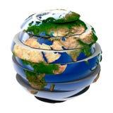 globalna łamigłówka Zdjęcia Royalty Free