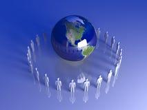 globalna Americas drużyna ilustracja wektor