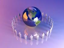 globalna Americas drużyna ilustracji