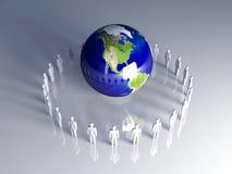 globalna Americas drużyna Obraz Royalty Free