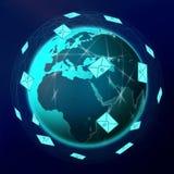 globalna E poczta Obraz Stock