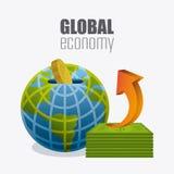 Globalna gospodarka, pieniądze i biznes, Fotografia Royalty Free