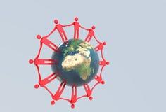 globalna jedność Obrazy Stock