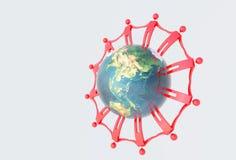 globalna jedność Zdjęcia Royalty Free