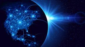 Globalna komunikacja Zdjęcie Royalty Free