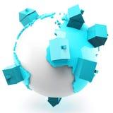 Globalna nieruchomość Zdjęcia Stock