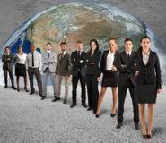 Globalna poparcie drużyna Obraz Stock