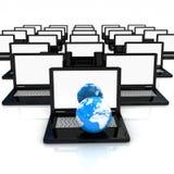 Globalna sieć Internety Obraz Royalty Free