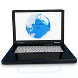 Globalna sieć Internety Obrazy Stock