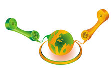 globalna telekomunikacja Fotografia Stock