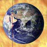 globalna zamieszania Obraz Royalty Free