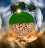 globalne ocieplenie Obraz Stock