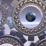 globalne sieci Fotografia Royalty Free
