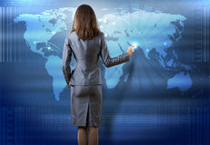 Globalne technologie Obraz Royalty Free