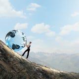 Globalne technologie Zdjęcia Stock