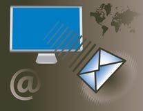 globalne usługi e - mail Obrazy Stock