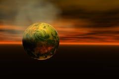 globalne warming2 royalty ilustracja