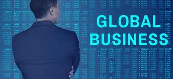 Globalnego biznesu księgowości Fintech Marketingowy pojęcie obraz stock