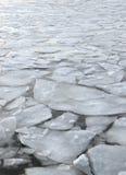 Globalnego nagrzania spławowy lód Obraz Royalty Free