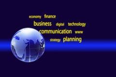 Globalnej gospodarki pojęcie Fotografia Stock