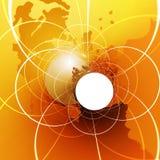 globalnej komunikacji Fotografia Royalty Free