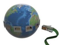 globalnej komunikacji Obraz Stock