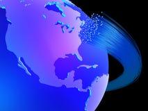 globalnej komunikacji royalty ilustracja