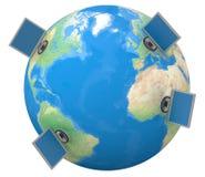globalnej komunikacji Obraz Royalty Free