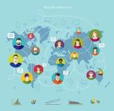 globalnej komunikacji Zdjęcie Stock