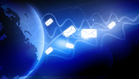 globalnej komunikacji Zdjęcie Royalty Free