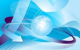 globalnej komunikacji Obrazy Stock