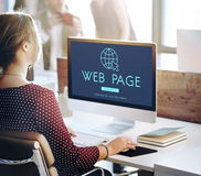 Globalnej sieci związku technologii pojęcie Fotografia Stock